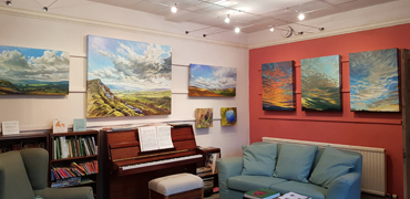 Original paintings at Beech House, Askrigg, Yorkshire Dales